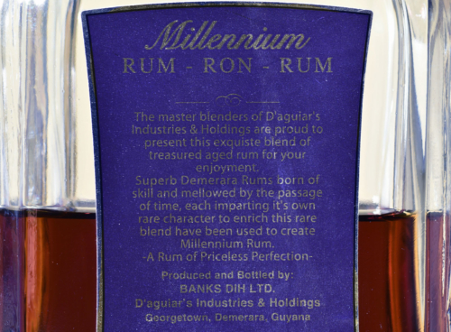 XM Millenium Rum 12 years old Demarara`s Finest